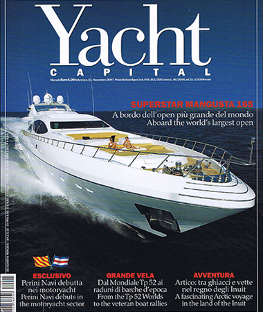 Yacht Capital n.11 Novembre 2007 pagine 99 Fashion Yacht 60 mt