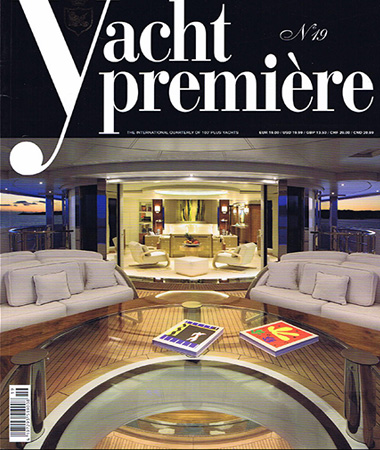 Yacht Premiere 19 pagine 16-22 Interior design-design as a language for expressing ideas, suggestions and plans E.Ruggiero