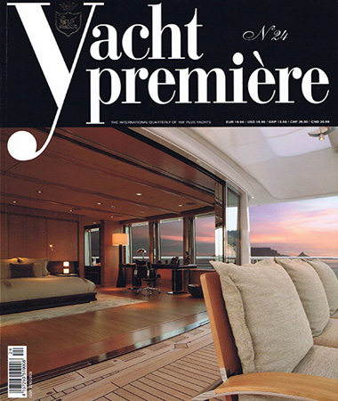 Yacht Premiere 24 pagine 12-16 Designing modern furnishing-the beginning E.Ruggiero