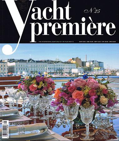 Yacht Premiere 25 pagine 32-38 Articolo Lucllus on board E.Ruggiero