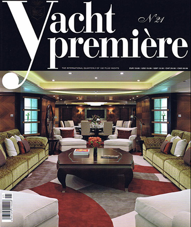 Yacht Premiere n. 21 pagine 44-49 Drawings, measurements and refitting E.Ruggiero